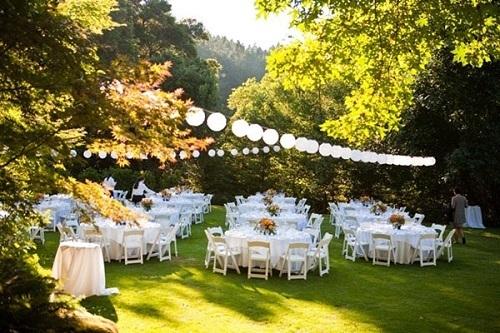 Wedding Reception Garden Choice Image Decoration Ideas