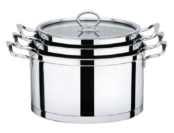 stainless steel pots