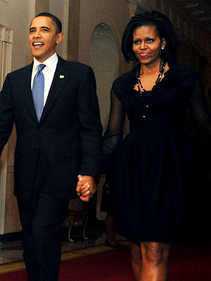 10 Times Michelle Obama Looked Amazing Rocking The Black Dress El