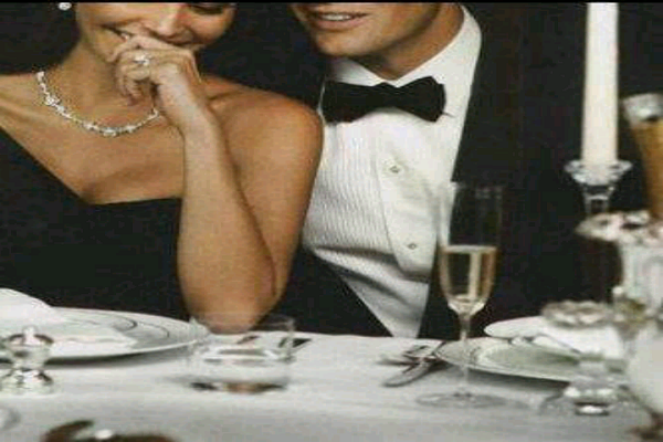 classy man and woman